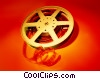 Stock photo  of a film reel