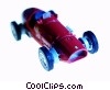 vintage race car Stock photo