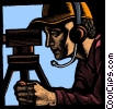 Fine Art graphic  of a surveyor