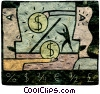 Fine Art image  of a financial concept
