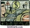financial concept Fine Art picture