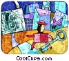 Fine Art graphic  of a Financial Concepts