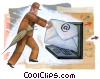 Stock Art graphic  of a E-mail