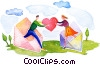 Couples and Romance Stock Art picture