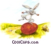 Easter Bunny Fine Art illustration