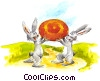 Stock Art image  of a Easter Bunny