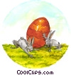 Easter Bunny Stock Art picture