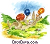 Fine Art picture  of a Easter Bunny