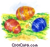 Stock Art picture  of a Easter Eggs