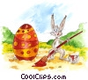 Easter Bunny Fine Art graphic