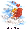 Fine Art graphic  of a Cupid