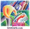 online shopping Fine Art illustration