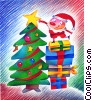 Christmas Trees Stock Art graphic