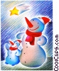 Snowmen Fine Art illustration