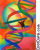 DNA strand  Fine Art image