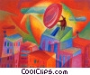 Investment and Stock Market Fine Art picture