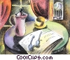 Periodicals Newspapers Magazines Fine Art illustration