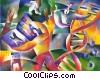DNA Stock Art graphic