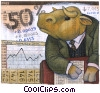 Stock Art graphic  of a Investment and Stock Market