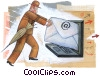 E-mail Stock Art picture