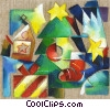 Christmas Trees Stock Art picture