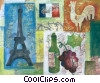 Paris France Stock Art picture