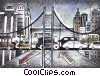 Roadways Fine Art illustration