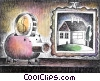 Fine Art image  of a Piggy Banks