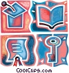 Stock Art graphic  of a Educational Concepts