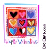 Fine Art graphic  of a Valentine Cards