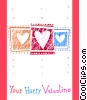 Valentine Cards Stock Art picture