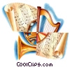 Instrument Groups Stock Art graphic
