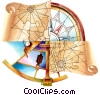 Stock Art graphic  of a Maps and Charts