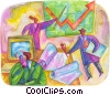 charting success Fine Art illustration