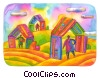 sheltered by credit cards clipart