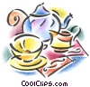 teapot and teacup Fine Art picture