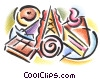 Fine Art graphic  of a cakes