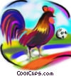 Stock Art picture  of a rooster