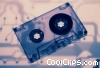 audio cassette tape Stock photo
