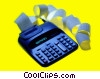 accounting calculator Stock photo