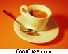 Stock photo  of a espresso cup
