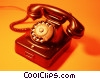 residential telephone Stock photo