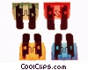 car fuses Stock photo