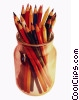 Stock photo  of a jar of pencils