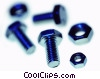Stock photo  of a nuts and bolts - undone