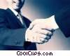 Stock photo  of a business people shaking hands