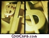 Stock photo  of a dollar signs
