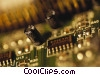 Stock photo  of a circuit board