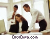 Stock photo  of a business people collaborating