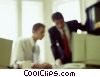 business people collaborating on a project Stock photo